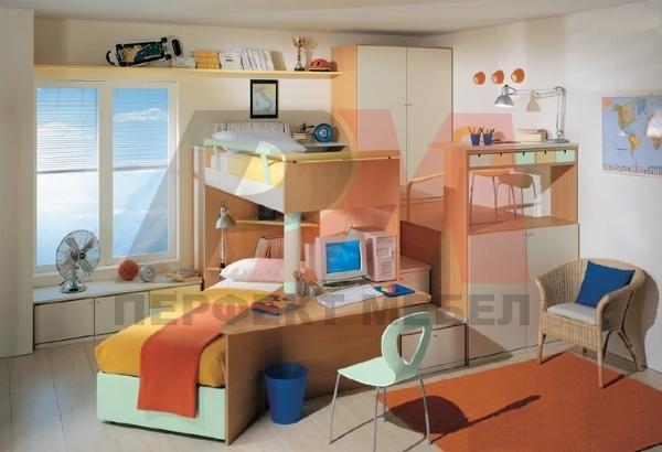 стабилни проектиране на юношески стаи благотриятни