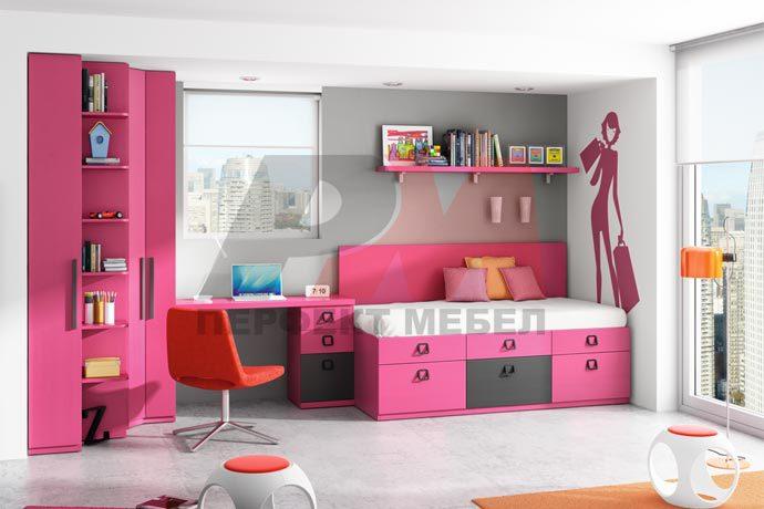 Проект на детска стая за тинейджър София