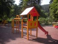 Детска къщичка с пързалка