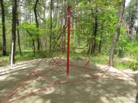 Въжена пирамида - Детска катерушка