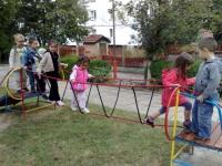 Детска катерушка от въжета