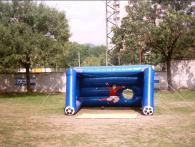 Надуваема футболна врата за деца