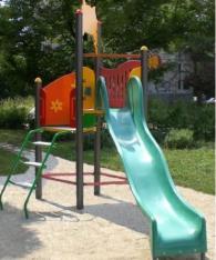 Детска пързалка 3100 х 3200 mm