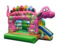 Надуваем замък динозавър