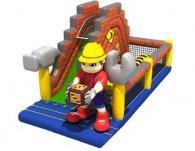Надуваеми съоръжения за деца