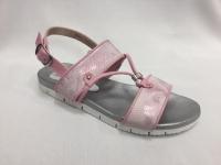 Розови детски сандали с мемори пяна на ходилото.