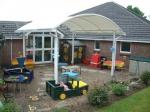 сенник  за детска площадка от поликарбонат