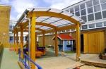 навеси  за детска площадка от поликарбонат продажба
