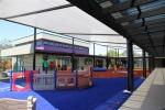 козирка по поръчка за детска площадка от поликарбонат фирми