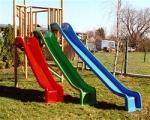 Пързалки от съклопласт за деца