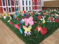 Настилки за детски площадки-изкуствена трева